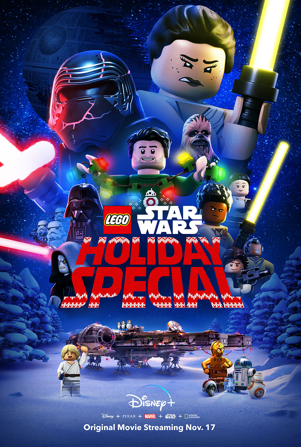 The Lego Star Wars Holiday Special | Key Art Finishing & Illustration