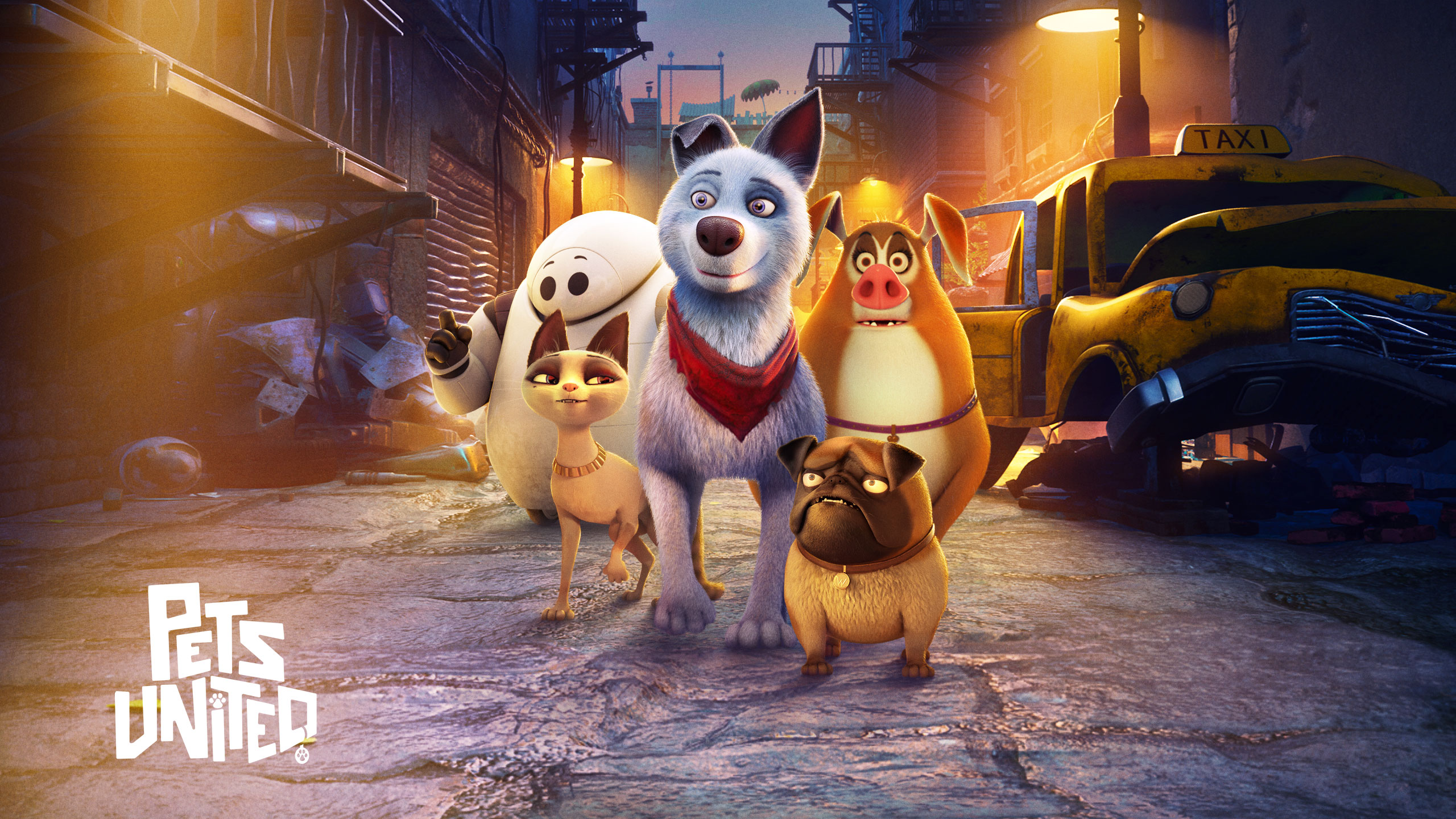 Pets United | Netflix Short Panel Concept, Finishing & Illustration