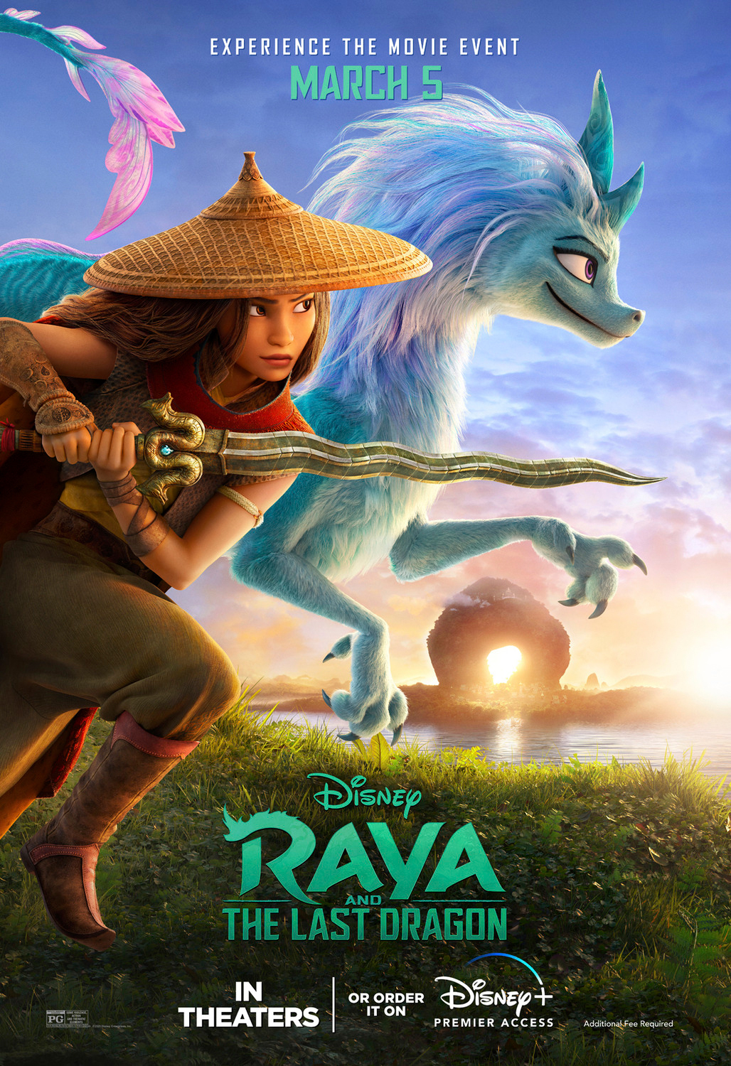 Raya and The Last Dragon   Outdoor Concept, Finishing & Illustration