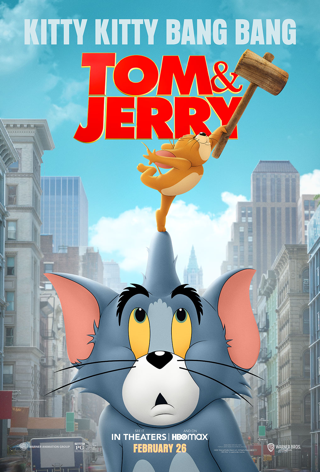 Tom & Jerry | Poster Finishing & Illustration
