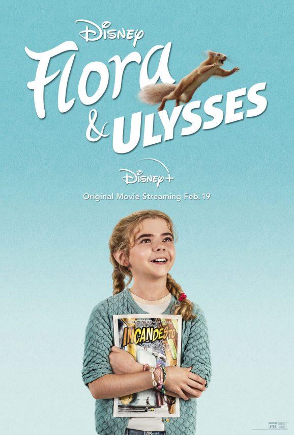 Flora and Ulysses | Poster Finishing & Illustration