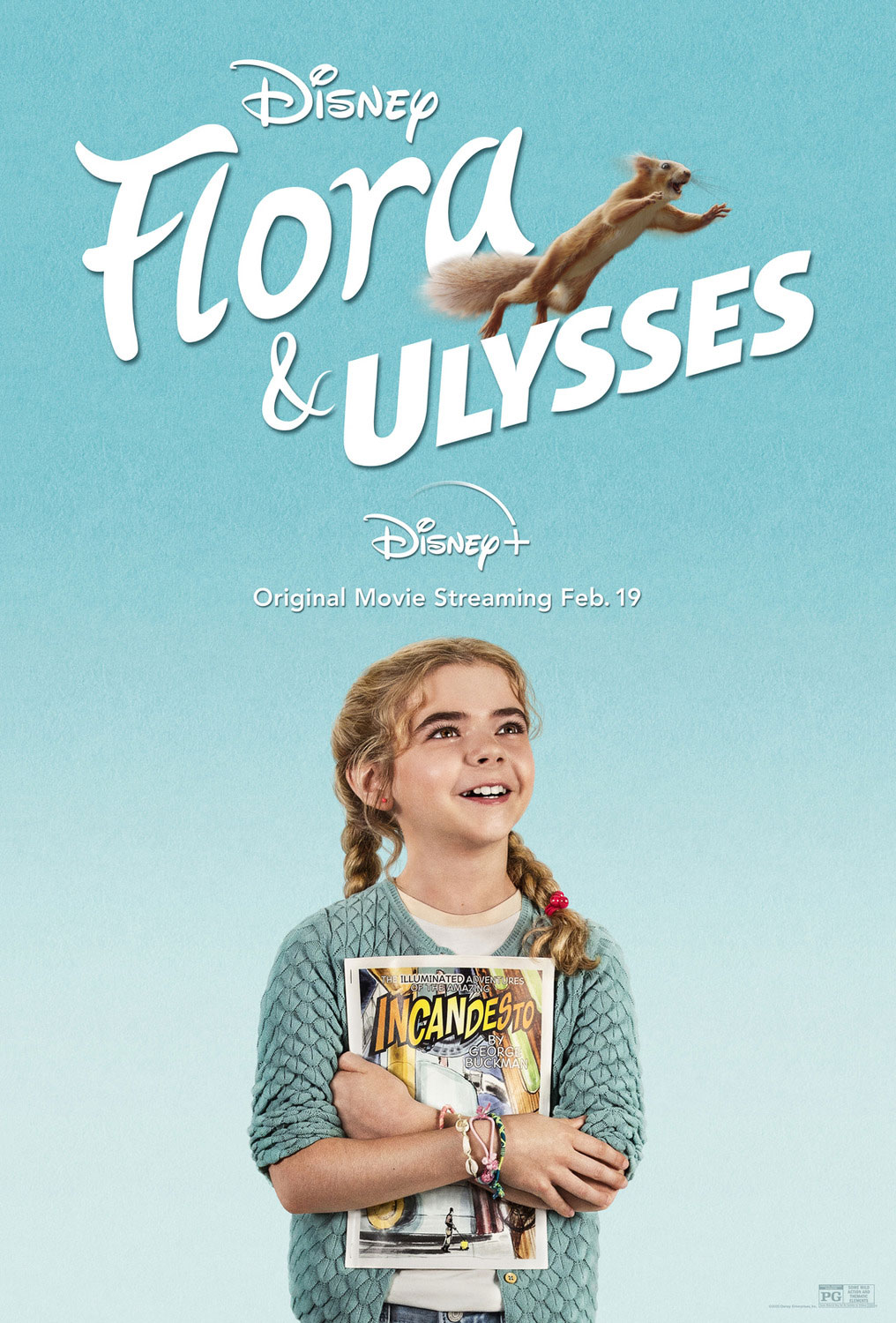 Flora and Ulysses | Poster Finishing & Illustration