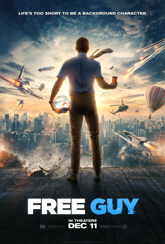 Free Guy | Poster Finishing & Illustration