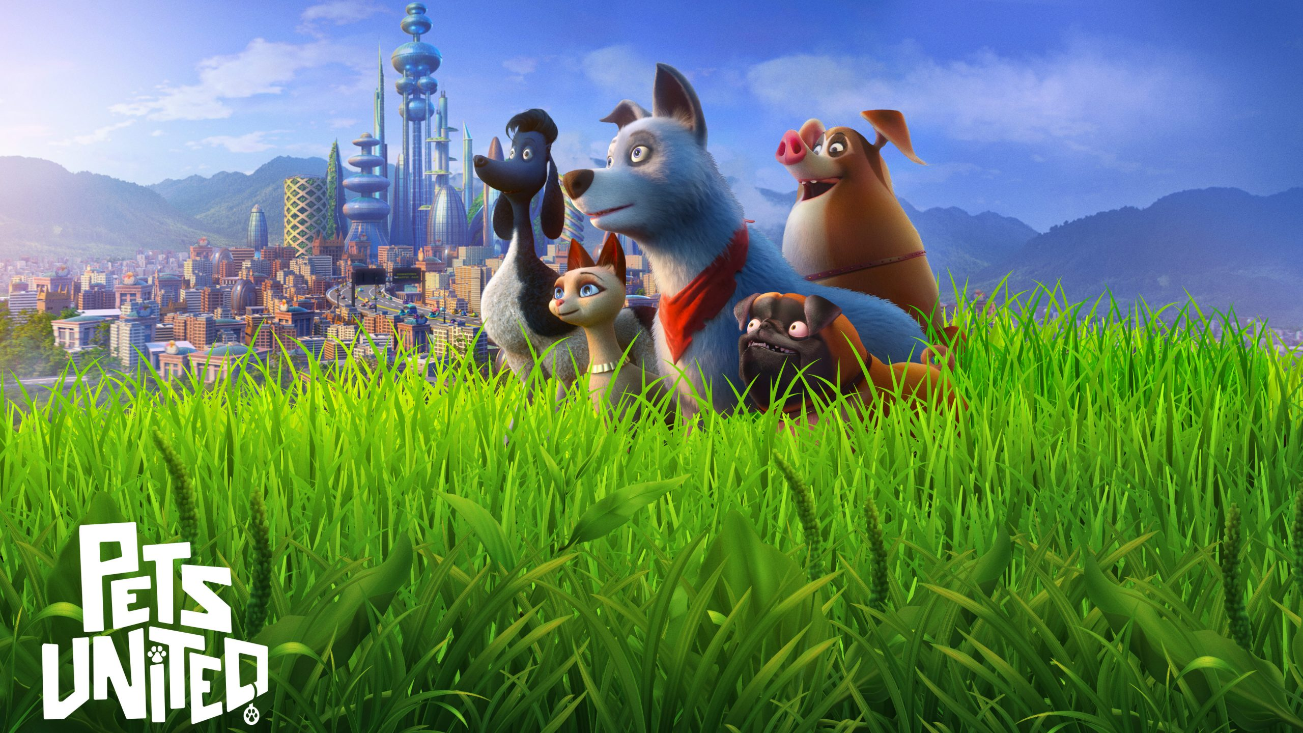 Pets United | Netflix Story Art Concept, Finishing & Illustration