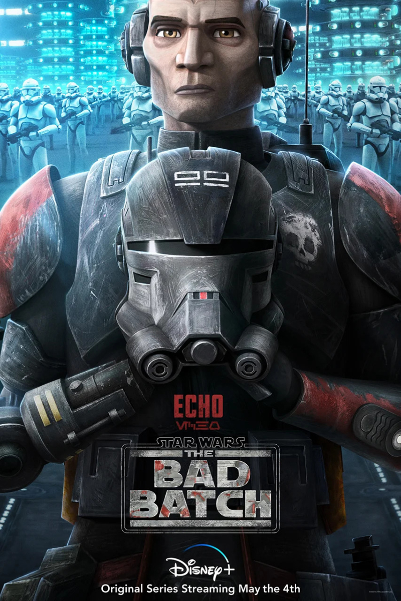 The Bad Batch | Poster Finishing & Illustration